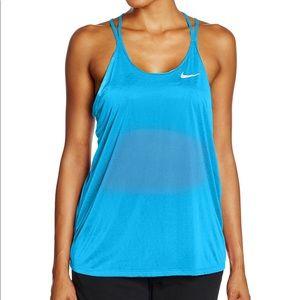 Nike DRI-Fit Cool Breeze Tank, blue, XS